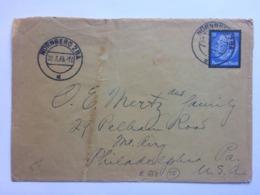 GERMANY 1934 Cover Berlin To Marine Hotel Gullane Scotland - Briefe U. Dokumente