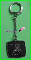 """Porte Clé  Vintage """" Alsacien BANANIA """" Chocolat Voiture RENAULT 1899 Car BICHET Keychain - Key-rings"""