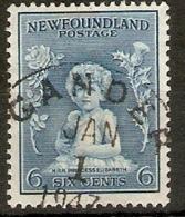 NEWFUNDLAND 1932 6c SG 214 FINE USED Cat £15 - Neufundland