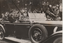 Foto 1934 Adolf Hitler Gratuliert Mackensen - Berühmtheiten
