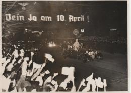 Foto 1938 Der Führer Fahrt Zum Sportpalast - Berühmtheiten