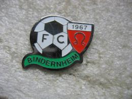 Pin's Du Football Club De BINDERNHEIM 1967 (Dépt 67) - Football