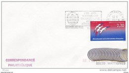 L4K211 FRANCE 1989  Secap Bicentenaire De La Révolution 59 Wattrelos 13 04 1989 /env.  YvT 2560 - Storia Postale