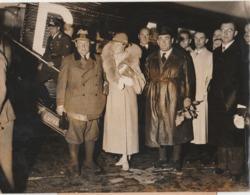 Foto Göring Ungarische Ministerpräsident Gömbös Auf Flughafen Tempelhof - Berühmtheiten