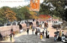 Colombo - Street Scene Pettah Colombo (animation, Colors 1913) - Sri Lanka (Ceylon)
