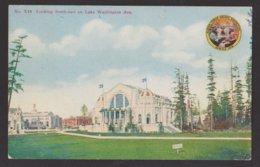USA - ALASKA - SEATTLE - Yukon-Pacific Exposition - Lake Washington Ave. - Etats-Unis