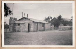 Mar017 Peu Commun Carte-Photo Maroc Protectorat Français AZILAL Poste Radio TSF Village 1940s - Afrika