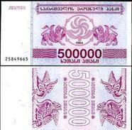 10 Pieces Georgia -  500000 Coupons 1994 UNC - Géorgie