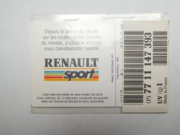 Carte Téléphone Privée , 5U , Auto Renault L'Etoile Filante , Sous Blister Ouvert , 25 000 Ex - Frankreich