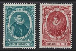 A47 - Belgium - 1941 - OBP 581A & 582A MNH - Albrecht & Isabelle - Nuevos