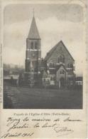 Ittre.   -    Façade De L'Eglise  D'Ittre (Notre-Dame)   -   1901   Naar   Nivelles - Ittre