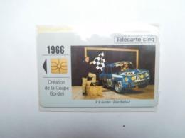 Carte Téléphone Privée , 5U , Auto Renault R8 Gordini  , Sous Blister Ouvert , 25 000 Ex - Francia