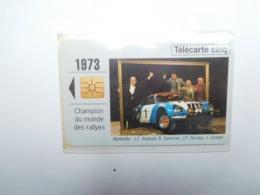 Carte Téléphone Privée , 5U , Auto Renault Alpine Berlinette  , Sous Blister Ouvert , 25 000 Ex - Frankreich