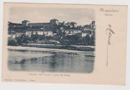 Moncalieri (TO) . Castello E Parte Del Borgo - F.p. - Fine  '1800 - Moncalieri