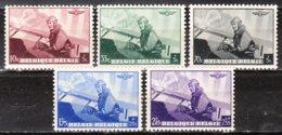 466/70*  Leopold III Aviateur - Série Complète - MH* - LOOK!!!! - Bélgica