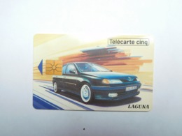 Carte Téléphone Privée , 5U , Auto Renault Laguna  , 15 000 Ex - Frankreich