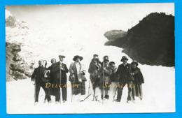 Haute-Savoie Chamonix * Touristes Au Glacier Des Bossons * Carte Photo * - Voir Scans - Chamonix-Mont-Blanc