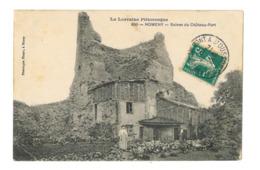 Nomeny - Ruines Du Chateau Fort - 353 - Nomeny