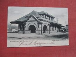 Tuck Series------Erie R.R. Depot  Middletown     - New York     Ref   3603 - NY - New York
