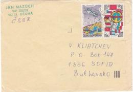 CSSR-70/1985 - 1.00 KCS. - Space: Programm INTERKOSMOS, Letter Ordinary - Tchécoslovaquie