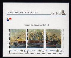 Grenada  2011 Mnh Famous Ships Cargo & Freighters Sheet Azalea III - Schiffe
