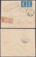 SERBIE RECOMMANDE TRESOR ET POSTES 504 02/10/1917 VERS ZURICH +CENSURE SERBE (8G33237) DC-3939 - Marcophilie (Lettres)