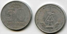 Allemagne Germany RDA DDR 50 Pfennig 1958 A J 1512 KM 12.1 - [ 6] 1949-1990 : RDA - Rép. Démo. Allemande