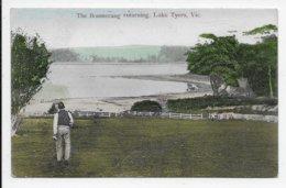 The Boomerang Returning, Lake Tyers, Vic - Australie
