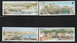 ILE De MAN - N°551/4 ** (1992) Ports - Man (Insel)
