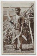 An Australian Aboriginal With Boomerangs. - Aborigines