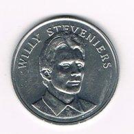 //  PENNING BP  WILLY  STEVENIERS - Souvenir-Medaille (elongated Coins)