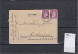 Reich (XX) Michel Kat.Nr.    785 MeF Auf Felpostverwendung - Briefe U. Dokumente