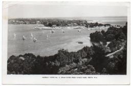 AUSTRALIA - PERTH W.A. - SWAN RIVER FROM KING'S PARK - Perth