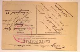 """Cachet """"Annexe De L'Hôpital Complémentaire N°6"""" ROMANS 1914/18 Frappe TB CP Romans école Pratique (2 Scans) - WW I"""
