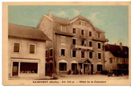 Le Russey - Hôtel De La Couronne - Autres Communes