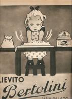 (pagine-pages)PUBBLICITA' LIEVITO BERTOLINI    Tempo1955 - Altri