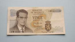 20 FRANK ( Type 1964 Atomium ) 15-06-64 ( For Grade, Please See Photo ) Morin 30c ! - [ 2] 1831-... : Royaume De Belgique