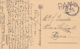 Paye + Indication Manuscrite De Port (0,05) + Oblit De Fortune Thoutout (23mm Sans Millésime) - Poststempels/ Marcofilie