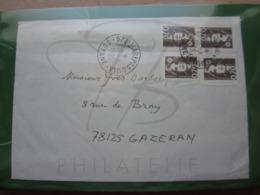 VEND TIMBRES DE FRANCE N° 2873 X 4 SUR LETTRE DE MARIPASOULA - GUYANE !!! - Guyane Française (1886-1949)