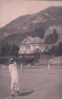 Château D'Oex VD, Grand Hôtel, Partie De Tennis (275) - VD Waadt
