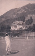 Château D'Oex VD, Grand Hôtel, Partie De Tennis (275) - VD Vaud
