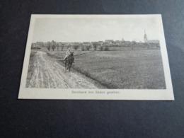 Belgique  België  ( 497 )   Becelaere ( Beselare ) Bij Zonnebeke -   Duitse Militair Te Paard -  Oorlog Guerre - Zonnebeke
