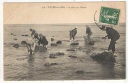 14 - VILLERS-SUR-MER - La Pêche Aux Moules - Gremillet 158 - 1912 - Villers Sur Mer