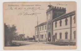Lombardore (TO) Baraccamenti Centro  - F.p. - Primi Anni '1900 - Andere Steden