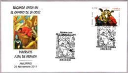 VIACRUCIS - JUAN DE ARANOA - Segunda Caida En El Camino De La Cruz. Amurrio, Pais Vasco, 2011 - Cristianismo