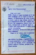 N.G.ANTOLA BOLOGNA 10/10/32 A.X.  LETTERA OFFERTE DI CRINE E LANA DI SCOZIA - Documentos Históricos