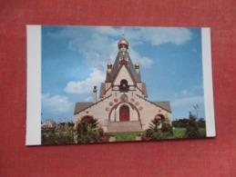 Holy Trinity Monastery  Jordanville New York Ref   3603 - NY - New York