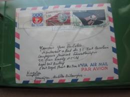 VEND N° 1354B + 1476 + 1488 SUR LETTRE POUR LE BATEAU FORT CAROLINE !!! - Briefe U. Dokumente