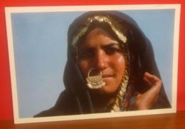 Donna Bedouin Egitto CARTOLINA  Viaggiata - Mujeres