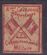 Nouvelle Calédonie - Franchise, Correspondance Militaire (essai) Type D - Sonstige